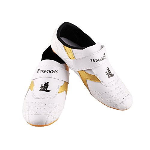 Taekwondo Shoes, Breathable Kung Fu Tai Chi Shoes for Adults and Kids ( Size : 37 )