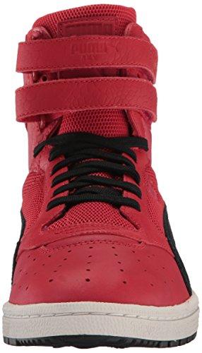 Puma Mens Sky Ii Hi Colore Bloccato Lthr Sneaker Toreador-puma Nero