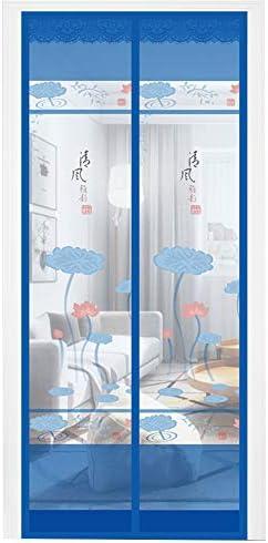 Unbekannt Puerta mosquitera magnética Transpirable de WL, con Dibujos Animados, Cortina de Puerta magnética, para dormitorios y Exteriores, Deja Pasar el Aire Fresco ...