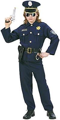 WIDMANN Widman - Disfraz de policía para niño, talla 11-13 años ...
