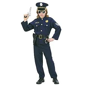 WIDMANN Widman - Disfraz de policía para hombre, talla 5-7 años (73166)