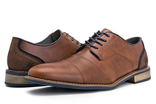 GW Mens 16573 Oxford Shoes 13M,Brown16573