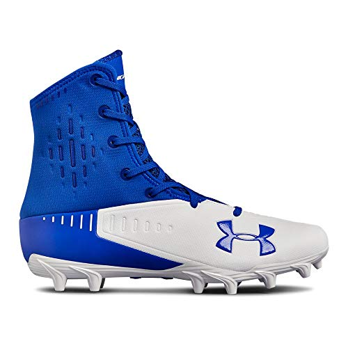 (Under Armour Men's Highlight Select MC Football Shoe, Team Royal (400)/White, 11.5)