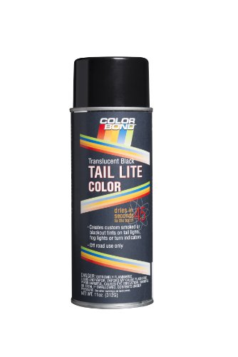 ColorBond (642) Transluscent Black Tail Light Color Tint Spray - 11 ()