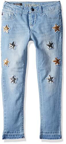 VIGOSS Girls' Big Fashion Jean, Star Classic Blue,