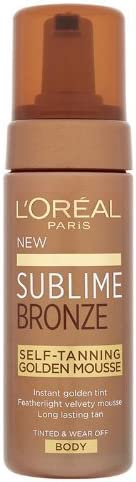 L'oreal paris - Sublime, crema autobronceadora, 150 ml