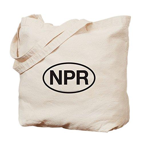CafePress–NPR nuevo puerto Richey, Florida–Gamuza de bolsa de lona bolsa, bolsa de la compra