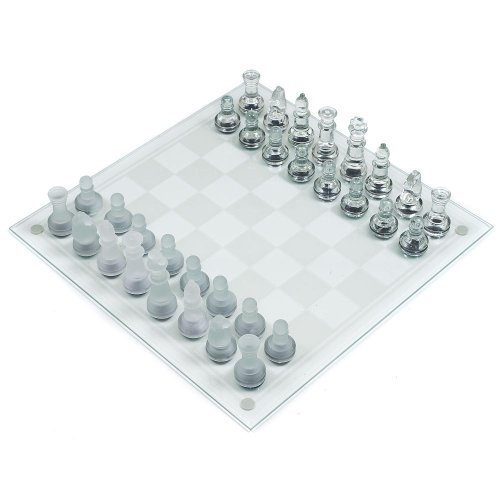 Exclusive Gifts Crystal Chess Set ()