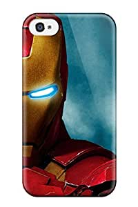 Premium Protection Amazing Iron Man 2 Case Cover For Iphone 4/4s- Retail Packaging