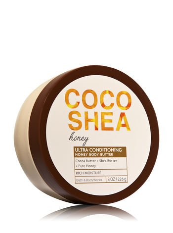 Conditioning Bath - Bath and Body Works Signature Collection  CocoShea Honey Body Butter 8 Ounce Coco Shea