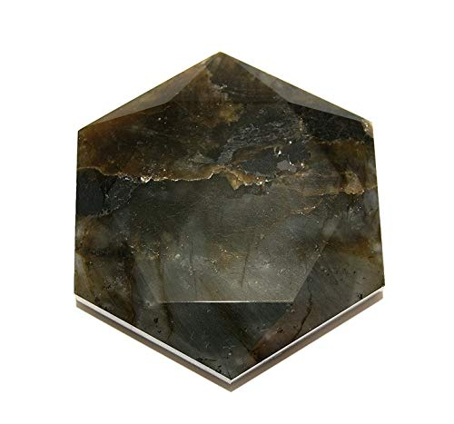 Labradorite Crystal Healing Tool Large Star of David SODLAB1926 by Gifts and Guidance