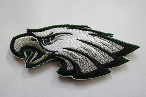 National Football League Philadelphia Eagles Logo Military Patch Fabric Embroidered Badges Patch Tactical Stickers for Clothes with Hook & -