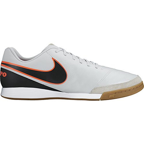 Black Blanco Leather Orng Men hypr Black Platinum Pure Football II Genio IC Training NIKE s Naranja Tiempo 4wHtzTqcc6