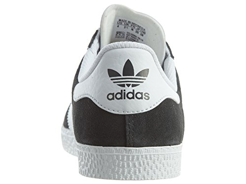Youths adidas Gris Leather 2 Gazelle Trainers 6aURqSw