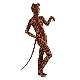 - 41 5luv3BfL - Nedal Lycra Tiger Bodysuit Halloween Cosplay Zentai Aanimal Costume For Kids