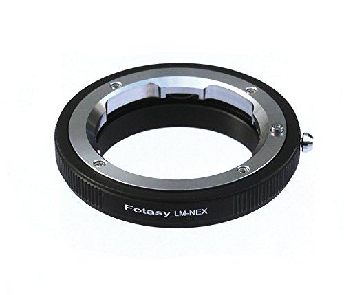 Fotasy Pro Leica M Lens to Sony E-Mount NEX Camera NEX-5R NEX-5T NEX-6 NEX-7 a6500 a6300 a6000 a5100 a5000 a3500 a3000 NEX-VG30 NEX-VG900 NEX-FS100 NEX-FS700 NEX-EA50 PXW-FS7 Adapter