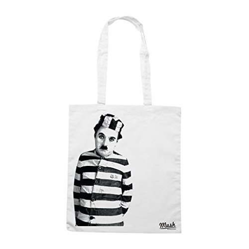 Borsa Charlie Chaplin - Bianca - Film by Mush Dress Your Style