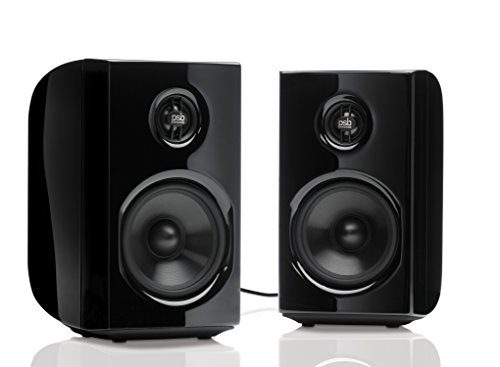 PSB Alpha PS1 GLSB Alpha PS1 Desktop Powered Speaker- Black