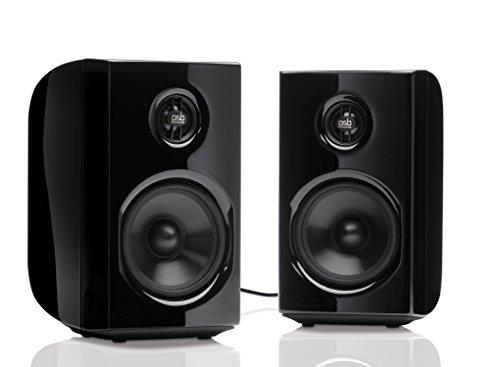 PSB Speakers 2-Way Desktop Speakers (2-Piece) Black ALPHA PS1