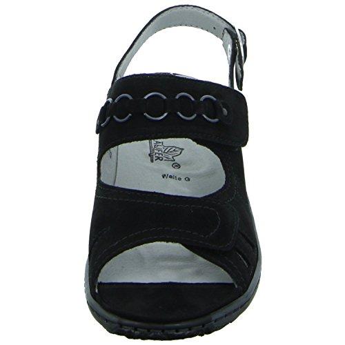 Mujeres Sandalias schwarz negro, (schwarz) 210004-191 001