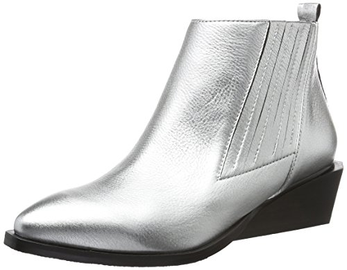 United Nude Women's West Ankle Boots Silver (Silver) piBXDin