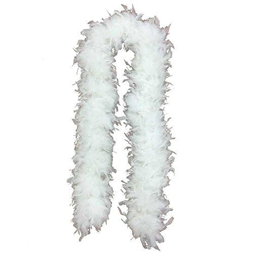 Jumbo Turkey Feather Boa (6' 150 grams) (White) for $<!--$14.99-->