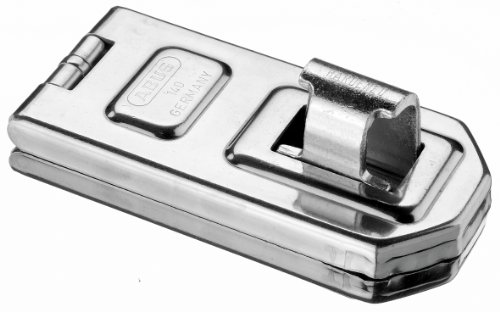 "ABUS 140/120 All Weather Stainless Steel Hasp (4-3/4"")"