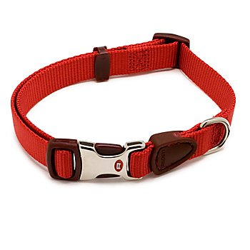 Petmate Signature Series 3/4-Inch by 14-20-Inch Adjustable Collar, Autumn Red, My Pet Supplies