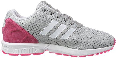 adidas ZX Flux W - Zapatillas para mujer Gris / Blanco / Rosa