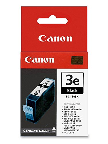 - Canon compatible BCI-3eBK Black ink cartridge