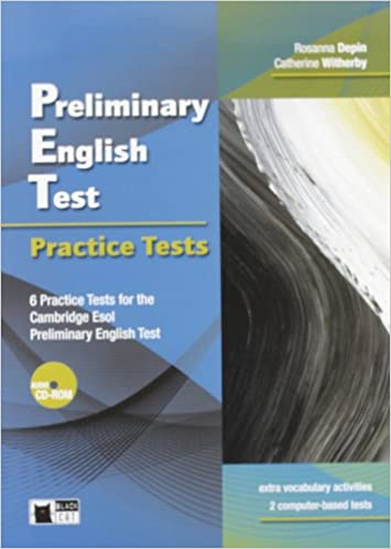 Preliminary English Test Sb Audio Cd Rom Examinations Collective 9788853012326 Books