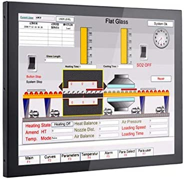 Amazon com: 19 Inch LED Industrial Panel PC,Taiwan 5 Wire