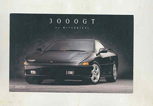 1993 Mitsubishi 3000GT VR4 Factory Postcard for sale  Delivered anywhere in USA