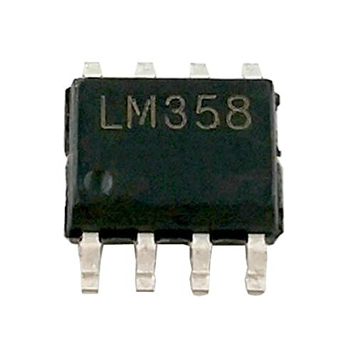 Slew Amp Op Rate ((Pack of 50 Pieces) MCIGICM lm358 ic SMD op-amp lm358 Operational Amplifier op amp)