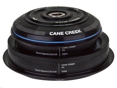 Cane Creek Semi-Int 40-Series 1-1 8 x 1.5 Cart Crown Straight Steerer Headset, schwarz, 30mm by Cane Creek