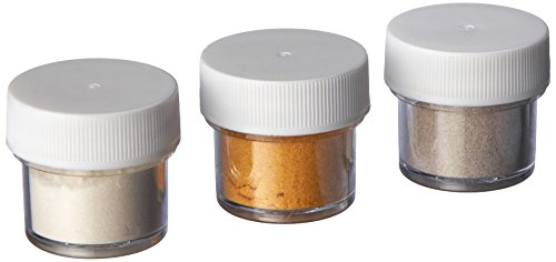 Wilton 703-212 Elegant Shimmer Dust Food Decorative,3/Pack