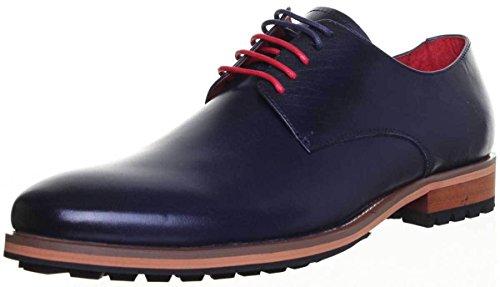 Homme Chaussures Reece pour 44 Ville à Bleu Lacets CD238 XB Justin Martin Marine de Bleu xZwIvITd