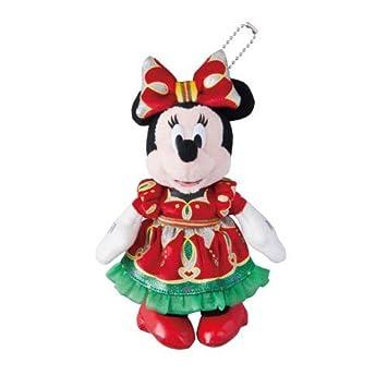 Minnie Mouse insignia juguete de peluche de Disney de Navidad 2014 [Tokyo Disneyland limitado]