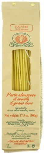 Rustichella Dabruzzo Wheat Spaghetti - Rustichella D'Abruzzo Bucatini, 17.5 oz