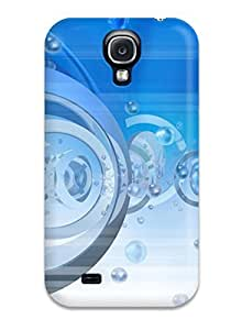 New Arrival Case Cover With GGszYlw793bWCYc Design For Galaxy S4- Bubbles And Rings