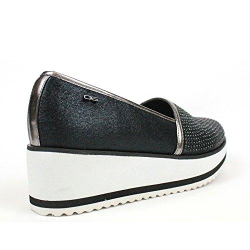Zapatillas SL0003 1 Para negro MILANO Mujer P 06 nTpwa7xI