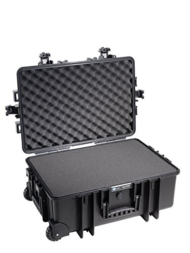 Type 6700 Outdoor Case with SI Foam, Black