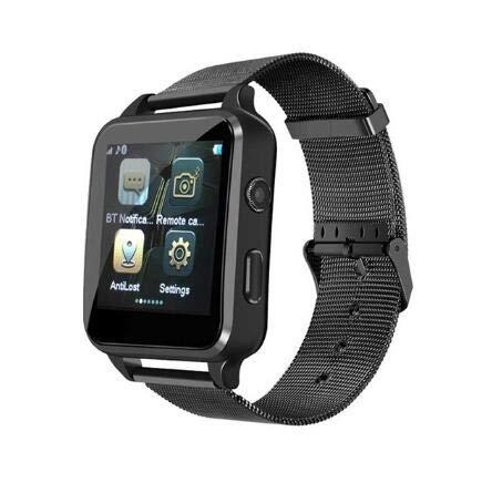 Amazon.com: Smart Watch Bluetooth Steel Strap Touchscreen ...