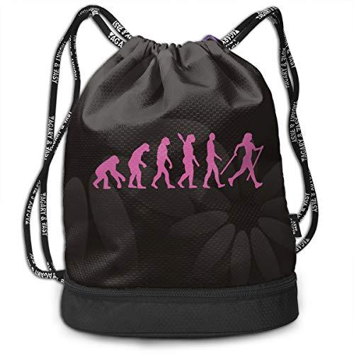 (Drawstring Backpack Evolution Nordic Walking Bags)