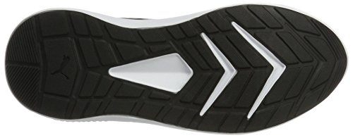 Puma White de Mesh Cross Black puma Puma Unisex Adulto Escaper Negro 1 Zapatillas RqRPtw1xr