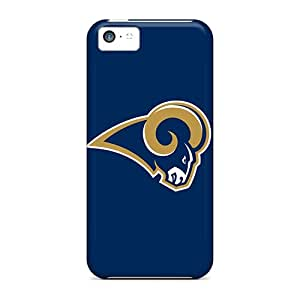Quality LittleBox Case Cover With St. Louis Rams 3 Nice Appearance Compatible With Iphone 5c