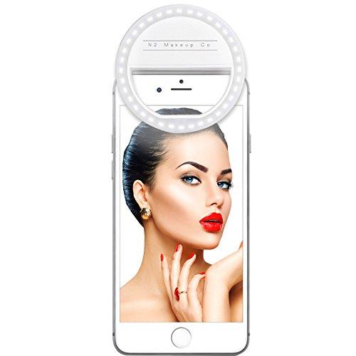 N2 Makeup Co. Selfie Ring Light for Smartphones/Tablets from N2 Makeup Co