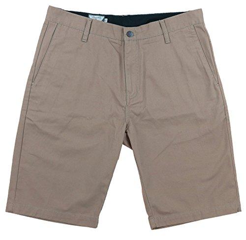 Volcom Mens Vmonty Modern Fit Short (34, Khaki)