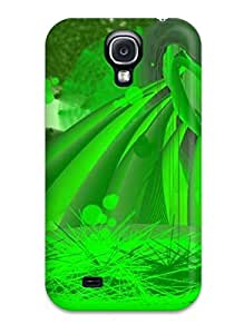 Faddish Phone Acid Green Case For Galaxy S4 / Perfect Case Cover