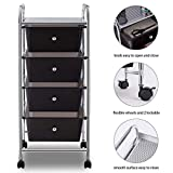 Giantex Storage Cart Bin Organizer Rolling